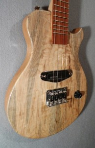 Spalted Maple Electric Ukulele
