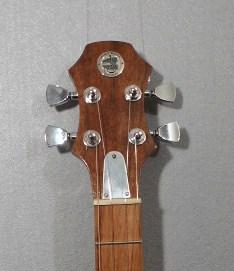 Black Walnut Electric Baritone Ukulele