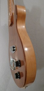 Black Walnut Electric Baritone Ukulele