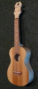 Red Cedar top Maple Body Concert ukulele